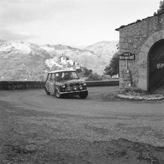 Mini Cooper Racing at 1965 Rallye Monte Carlo
