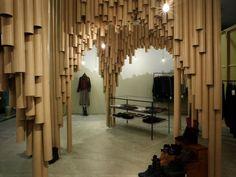 carton magasin tubes hiroshima japon design moderne Suppose design office