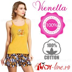 Pijamale Vienetta Secret, Bumbac 'My Favorite' Athletic Tank Tops, The 100, Lady, Cotton, Women, Fashion, Moda, Fashion Styles, Fashion Illustrations