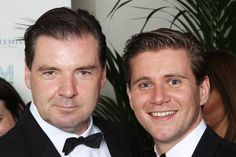 Mr. Bates and Branson  (Brendan Coyle and Allen Leech)