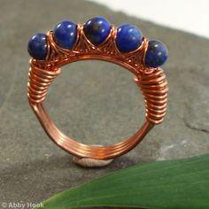 Kiss Kross Ring - Lapis Lazuli