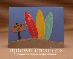 Stampin' Up! Just Surfing- Surf's Up