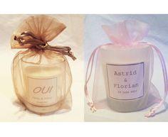 La bougie parfumée personnalisée, Un Air de Parfum - 1001mariages.com