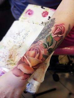 Manchette roses