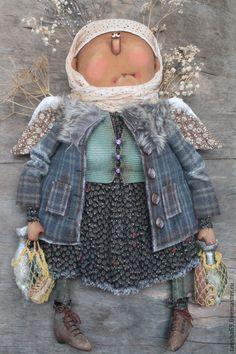 Купить Кормилица! - разноцветный, текстильная кукла, ароматизированная кукла, интерьерная кукла, ангел, ангел-хранитель