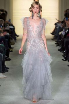 See Blake Lively's Gorgeous Outfit for the Marchesa Fashion Show via @WhoWhatWear