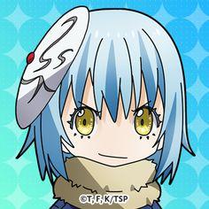 Anime Love, Anime Manga, Anime Art, Slime Wallpaper, Blue Hair Anime Boy, Chibi Characters, Otaku, Cool Sketches, Fantasy World