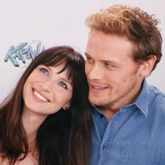 Cait and Sam....new pic juli 2017.  I love the chemistry .....they are so cute