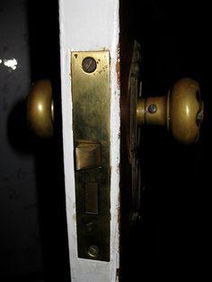 Cleaning and Repairing an Antique Mortise Door Lock : 28 Steps (with Pictures) - Instructables Antique Door Hardware, Antique Door Knobs, Antique Doors, Front Door Locks, Smart Door Locks, Mortise Door Lock, Iron Wine Rack, Wine Racks, Black Door Handles