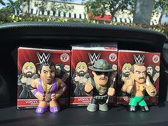 Funko Mystery Minis WWE S 2 Target Set, Snake, Sgt Slaughter, Razor!