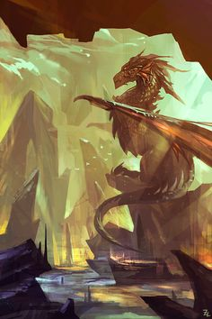 Dragon by zudartslee on deviantart dragon love! в 2019 г. дракон, рыцарь и фэнт Fantasy Dragon, Fantasy Art, Fantasy Images, Fantasy Creatures, Mythical Creatures, Dragon's Lair, Dragon Artwork, Legendary Creature, Dragon Pictures