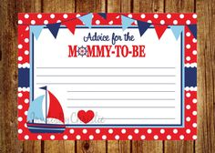 Instant Download Ahoy It's A Boy Baby Shower by InvitesByChristie, $6.00