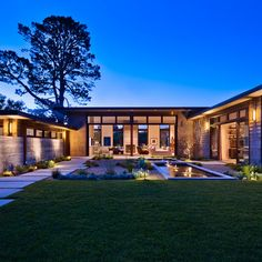 U Shaped House Design Ideas, Pictures, Remodel, and Decor - page 3