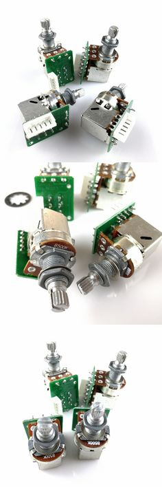 1 Piece B500K Push Pull Switch Potentiometer(POT) With Circuit Board For Epi