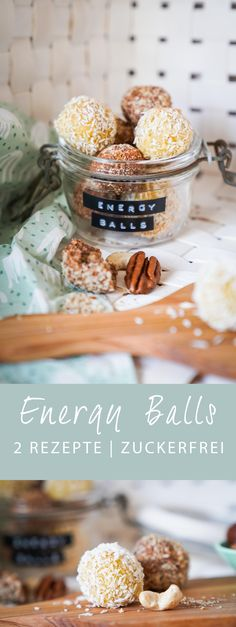 rezept energy balls gesund naschen ichsowirso de - The world's most private search engine Yummy Snacks, Healthy Desserts, Healthy Drinks, Energy Snacks, Healthy Cookies, Clean Eating Recipes, Clean Eating Snacks, Gourmet Recipes, Ideas