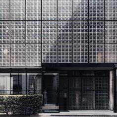 La maison de verre pierrechareau architecture paris via ad magazine- architecture, design, patterns
