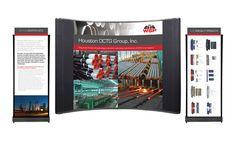 WSP-Houston OCTG Brochure Design/Tradeshow Booth by Danielle Duhon, via Behance