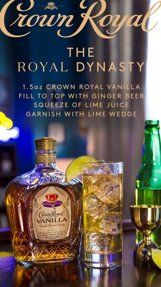 Every dynasty starts with one championship, and this year, it could be your team that takes the Crown. Mix up a Royal Dynasty and watch your team take the court this March! Start by pouring oz Crown Royal Vanilla into a collins glass over ice. Cocktails, Cocktail Drinks, Alcoholic Drinks, Fancy Drinks, Drinks Alcohol Recipes, Cocktail Recipes, Drink Recipes, Healthy Pizza Recipes, Healthy Casserole Recipes