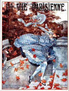 La Vie Parisienne Une Feuille Bien Pensante November 3, 1923 Cheri Herouard
