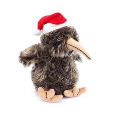 This Singing Xmas Kiwi Santa Soft Toy is a fun gift for young and old. The plush kiwi bird toy has jaunty hat, measures approximately Kiwi Bird, Merry Christmas, Xmas, Kiwiana, Bird Toys, Santa Hat, New Zealand, Singing, Best Gifts
