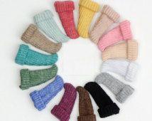 Farbenfrohe gestrickte Socken für Blythe/DAL/Pullip/Azone | Puppe Kleidung | Puppe Kleidung