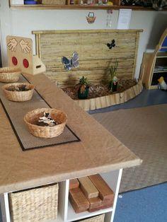 Indoor garden & standing workbench. I want to work toward having more levels in my room.