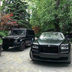 Mercedes with Rolls