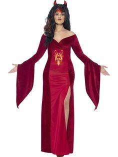Women's Plus Size Curves Devil halloween Costume