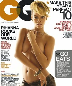 Rihanna for GQ Magazine | www.piclectica.com #piclectica #Rihanna #GQ