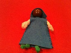 Bible dolls, good generic tutorial for making pipe cleaner dolls