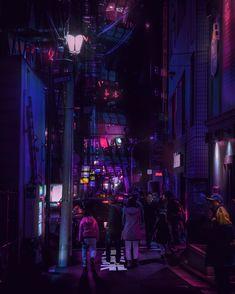 Harajuku Nights / 原宿 / Monsoon Night / 00:39:16…