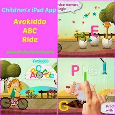 Children's iPad App and Giveaway, Avokiddo ABC Ride