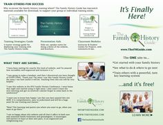 The Family History Guide Brochure