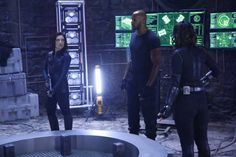 Photos - Agents of SHIELD - Season 3 - Promotional Episode Photos - Episode - Maveth - Agents Of Shield Seasons, Marvels Agents Of Shield, Man Movies, Comic Movies, Agents Of S.h.i.e.l.d, Secret Warriors, Miss America, Plot Twist, Meet The Team