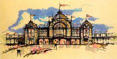 Crystal Palace, Disneyland Paris (never built)