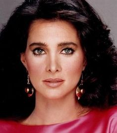 "The beauty idol from my youth. Connie Sellecca, at her best. I never missed one episode of ""Hotel""."