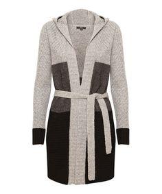 Take a look at this Black Abbot Peak Merino Wool Tie-Waist Jacket by EMU Australia on #zulily today! $120 !!