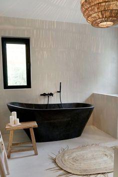most beautiful bathroom design with modern bathtub ideas 25 ~ my. most beautiful bathroom design wi. Black Bathtub, Modern Bathtub, Modern Bathroom, Bathroom Ideas, Bathtub Ideas, Bathroom Spa, Bathroom Storage, White Bathroom, Bathroom Interior