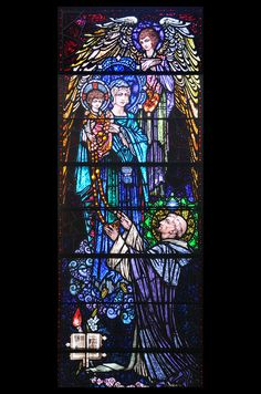 (Harry Clarke) Our Lady of the Rosary