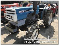 UsedJapaneseTractors.jp : MITSUBISHI D1650 4WD Tractors