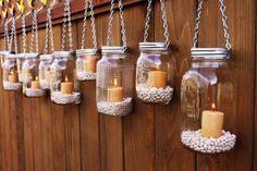 Awesome backyard lanterns