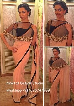 sarees - Nivetas Design Studio- www.facebook.com/punjabisboutique whatsapp +917696747289  for replica mail nivetasfashion@gmial.com #saree #designer #sarees #saries #beautiful #sarees #Bollywood #latest #designs