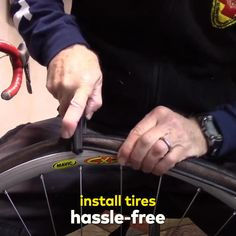 The Hassle-Free Way To Install Your Bike Tires🚴 ✅ Quick & Efficient ✅ Non-Slip Handle ✅ Lightweight & Portable Jack Tool, Garage Atelier, Tubeless Tyre, Push Bikes, Cycling Accessories, Cool Gadgets To Buy, New Inventions, Home Gadgets, How To Make Light