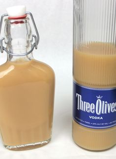 Salted Caramel Vodka Infusion