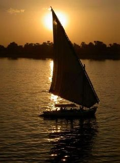 The Nile, Egypt – memories of sailing down the Nile onboard feluccas and campfires and songs at sunset