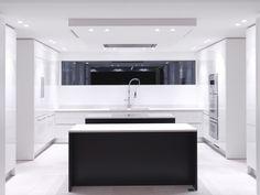 Cuisine moderne et design par Studio Villa.  Edouard Sicsic