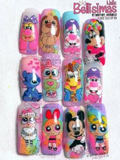 Nail Manicure, Pedicure, Beauty Spa, Fabulous Nails, New Girl, Nail Designs, Nail Art, Cartoon, Ideas