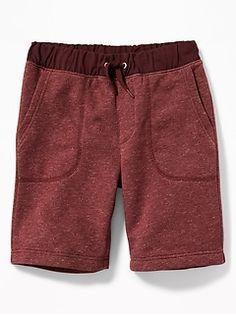 Chambray-Waist Shorts for Boys Shop Old Navy, Jack Black, Boy Shorts, Dress Codes, Chambray, Boy Outfits, Heather Grey, Gray Color, Sweatpants
