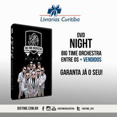 Você sabia que o DVD #Night da #BigTimeOrchestra está entre os mais vendidos na LivrariaCuritiba , segue o link para garantir o seu: www.livrariascuritiba.com.br/dvd-big-time-orchestra---night---2014/p #maisvendidos #bto #bigtime #sucessos