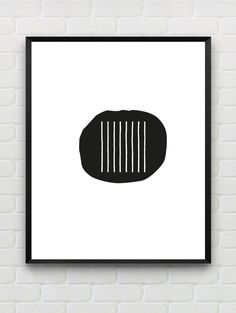 Minimalist Poster black white wall art nordic Scandinavian wall decor home decor